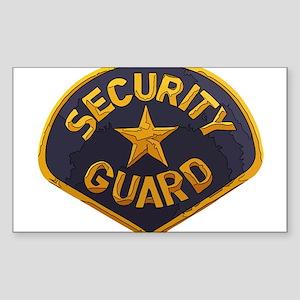 Security Guard patch Sticker