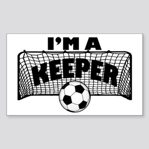 Im a Keeper soccer copy Sticker