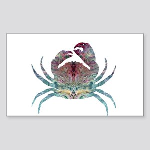 Colorful Crab Sticker
