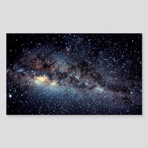 Optical image of the Milky Way Sticker
