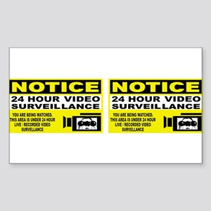 24-hour-security-bumb Sticker