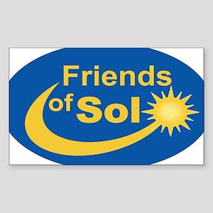 Friends of Sol-3x5-Oval Sticker
