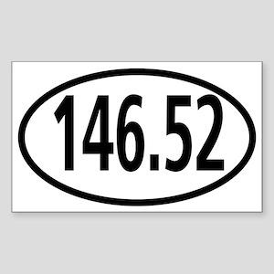 146.52 Ham Radio 2 Meters Calling Sticker
