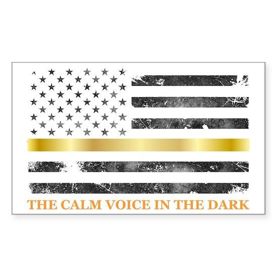 Dispatcher Gifts - Thin Gold Line - Thin Yellow Li