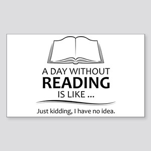 Gifts for Readers Sticker (Rectangle 50 pk)