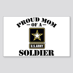 proudarmymom33 Sticker (Rectangle 50 pk)