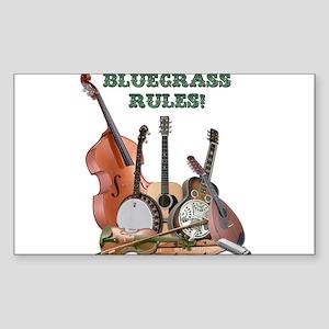 Bluegrass Rules Sticker (Rectangle 50 pk)