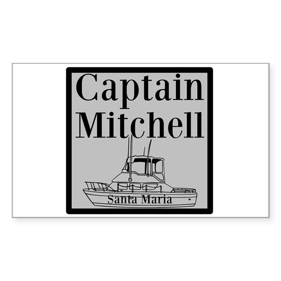 Personalized captain fishing boat