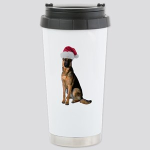 FIN-santa-german-shepherd Stainless Steel Trav