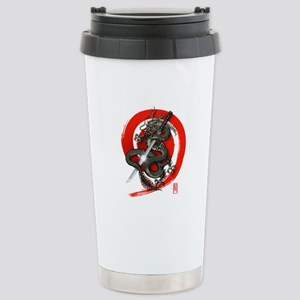 Dragon Katana02 Stainless Steel Travel Mug