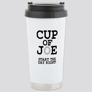 CUP OF JOE - START THE Stainless Steel Travel Mug