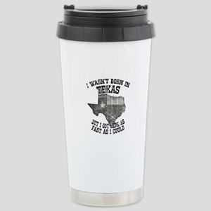 Texas Stainless Steel Travel Mug