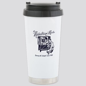 The Mainstream Media Stainless Steel Travel Mug