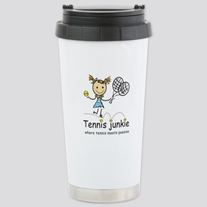 Tennis Junkie Stainless Steel Travel Mug