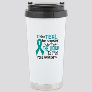 PCOS MeansWorldToMe2 Stainless Steel Travel Mug