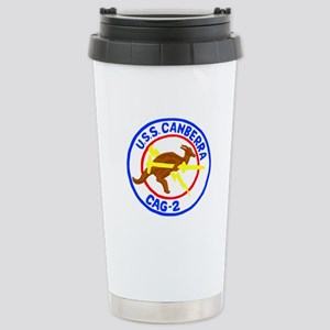 USS Canberra (CAG 2) Stainless Steel Travel Mug