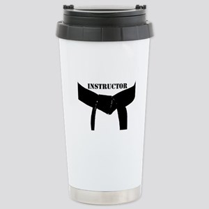 Martial Arts Instructor Stainless Steel Travel Mug