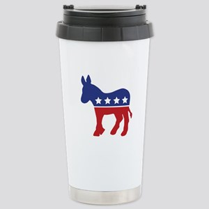 Democrat Donkey Stainless Steel Travel Mug