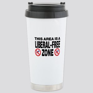 This Area Is A Liberal-Free Zone Stainless Steel T