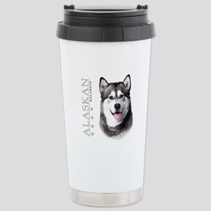 Alaskan Malamute Stainless Steel Travel Mug