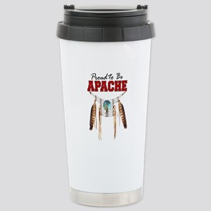 Proud to be Apache Stainless Steel Travel Mug