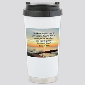 ISAIAH 41:10 Stainless Steel Travel Mug