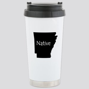Arkansas Native Stainless Steel Travel Mug