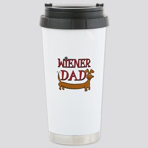 Wiener Dad/Octoberfest Stainless Steel Travel Mug
