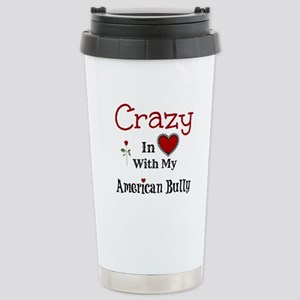 American Bully Travel Mug