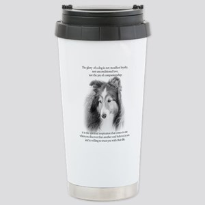 Sheltie Glory Travel Mug