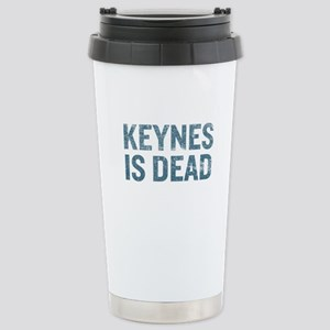 Keynes is Dead Stainless Steel Travel Mug