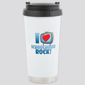 I Heart Schoolhouse Rock Ceramic Travel Mug