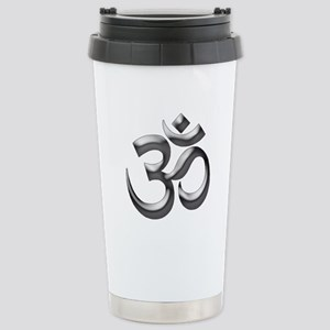 Om Stainless Steel Travel Mug