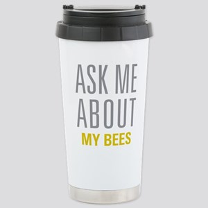 My Bees Stainless Steel Travel Mug