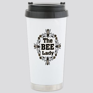 Bee Lady Stainless Steel Travel Mug