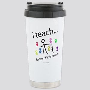 teach4them Stainless Steel Travel Mug