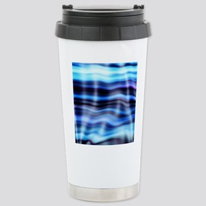 blue water ripples ocean beach decor Mugs