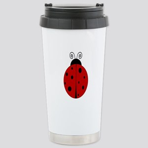 Ladybug - Personalized with Stainless Steel Travel