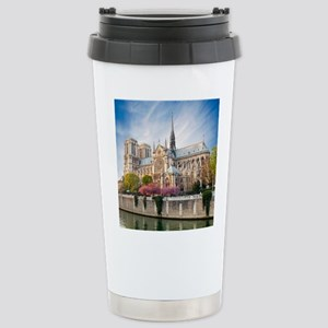 Notre Dame Cathedral Stainless Steel Travel Mug