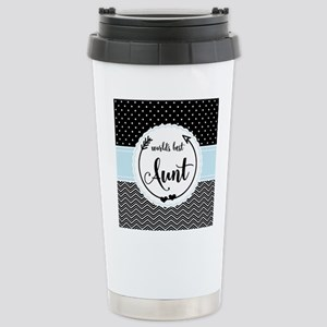 Gifts for Aunt World's Stainless Steel Travel Mug