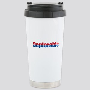 Deplorable Stainless Steel Travel Mug