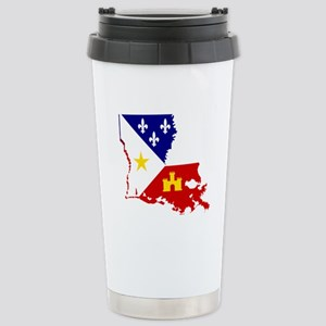 Acadiana State of Louis Stainless Steel Travel Mug