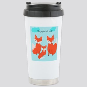 Fox family Stainless Steel Travel Mug