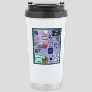 Knitters Stainless Steel Travel Mug
