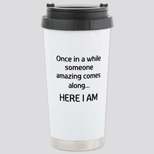 someone amazing Travel Mug