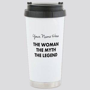 Custom Woman Myth Legen Stainless Steel Travel Mug