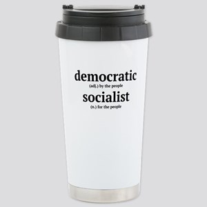 democratic socialist Travel Mug