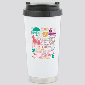 Gilmore Girls Collage Stainless Steel Travel Mug