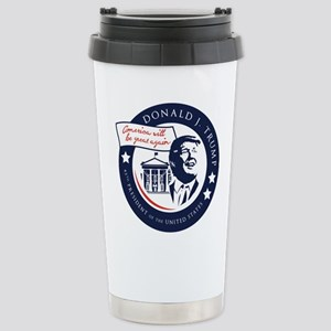 Trump 45th President Stainless Steel Travel Mug