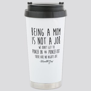Meredith Grey Mom Quote Stainless Steel Travel Mug